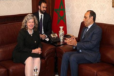 القائمة بالأعمال بالسفارة الأمريكية بالرباط تؤكد حرص واشنطن على تعزيز العلاقات مع المغرب في كافة المجالات