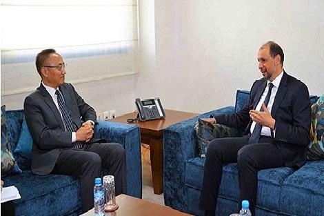 الجزولي يتباحث مع نائب وزير الخارجية الصيني حول سبل تعزيز التعاون الثنائي والصيني-الإفريقي