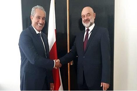 سفير المغرب في بولونيا يسلم أوراق اعتماده