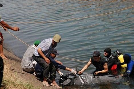 انتشال جثة عشريني من نهر أم الربيع ضواحي سطات