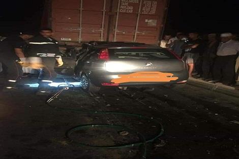 حادثة سير تؤدي بحياة ضابط شرطة بأمن برشيد