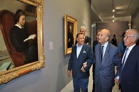 """عبد الرحمن اليوسفي بمتحف محمد السادس للفن الحديث والمعاصر، زيارة """"رمزية"""" و""""مبادرة قوية"""" لفائدة الثقافة"""