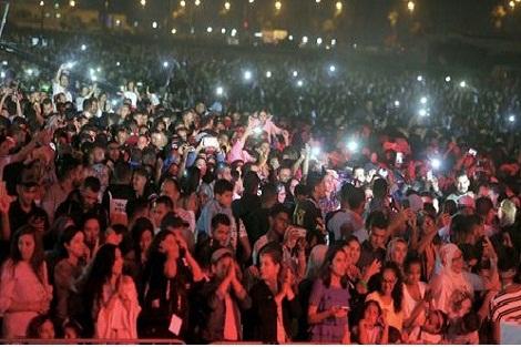 """الجديدة.. 780 ألف شخص تابعوا النسخة التاسعة للمهرجان الدولي """"جوهرة"""""""