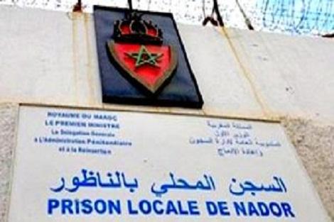 """إدارة السجن المحلي بالناظور 2 تنفي ما تم ترويجه بشأن تعرض سجين """"للاعتداء والابتزاز"""" من طرف موظفين بالمؤسسة السجنية"""