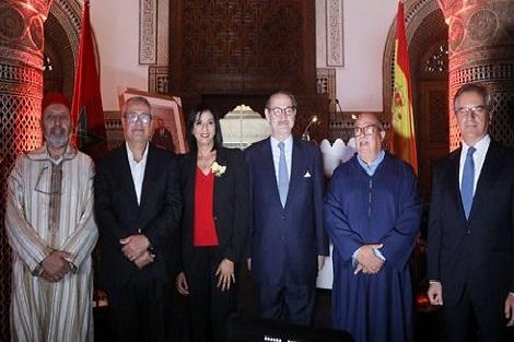 توشيح القنصل الفخري لإسبانيا بمراكش، السيدة خديجة الغابسي، بوسام إيزابيلا الكاثوليكية لمملكة إسبانيا