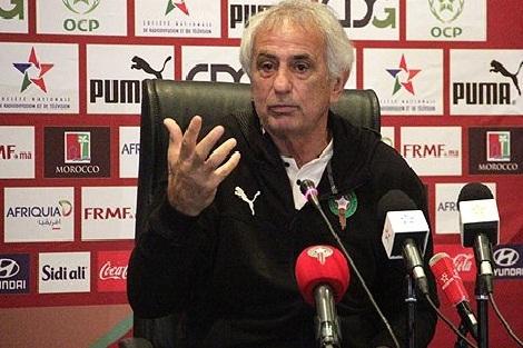 مدرب المنتخب الوطني لكرة القدم وحيد هاليلهوزيتش يستدعي 24 لاعبا لمبارتيه ضد منتخبي موريتانيا وبوروندي