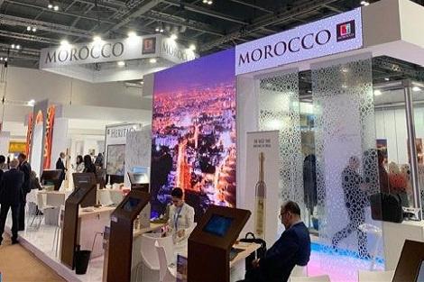 الدورة ال40 لسوق السفر العالمي بلندن : المكتب الوطني المغربي للسياحة يدشن تصميما جديدا لجناح من الجيل الجديد