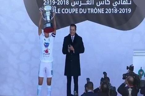 """كأس العرش: """"الطاس"""" يحرز لقبه الأول على حساب فريق حسنية أكادير"""