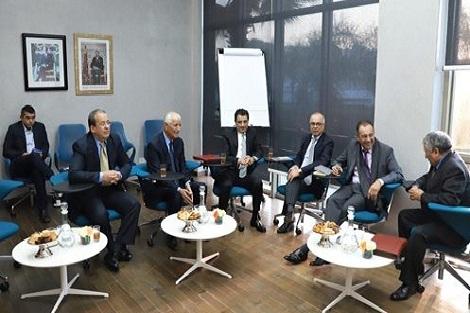 اللجنة الخاصة بالنموذج التنموي تبدأ اليوم الثاني من جلسات الاستماع ، باجتماع مع ممثلي الحركة الديمقراطية الاجتماعية