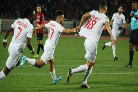 الوداد يحسم بطاقة التأهل لربع نهائي دوري الأبطال بعد اكتساح اتحاد العاصمة