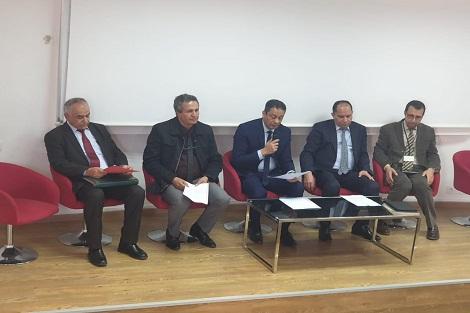 يوسف القاسمي يترأس حفل تنصيب مدير المركز الجهوي لمهن التربية والتكوين لجهة الدار البيضاء سطات