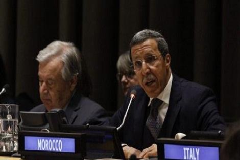 السفير هلال: سنة 2020 ستكون مفصلية في مجال العمل من أجل المناخ