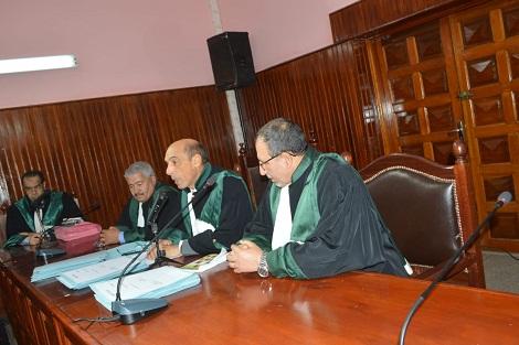 محامون متمرنون يؤدون القسم المهني باستئنافية سطات