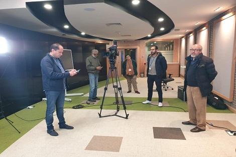 الأكاديمية الجهوية الدار البيضاء سطات تواصل عملية إنتاج الموارد الرقمية و الكبسولات الخاصة بعملية التعليم عن بعد
