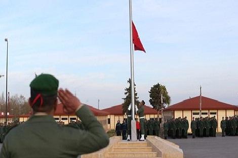 الحاجب: المدعوون للخدمة العسكرية يباشرون مرحلة التخصص
