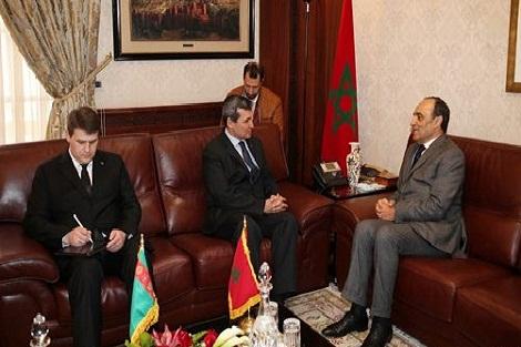 """وزير خارجية تركمنستان يؤكد أن مقترح الحكم الذاتي الذي تقدم به المغرب هو """"الحل الوحيد للنزاع حول الصحراء"""""""