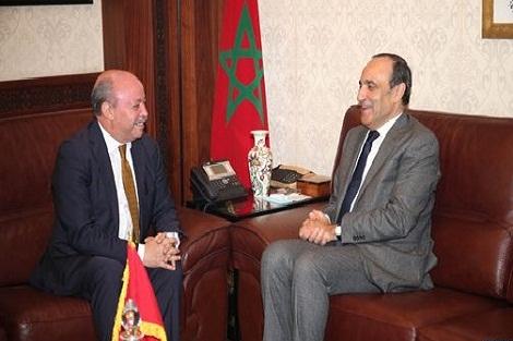 المالكي يبرز أهمية الحوار السياسي والبرلماني بين المغرب والجزائر وحتمية التوجه نحو المستقبل