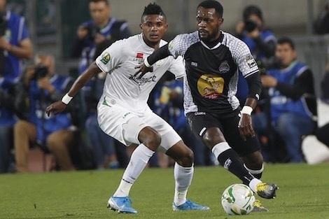 الرجاء البيضاوي يتأهل لنصف النهاية رغم هزيمته بميدان تيبي مازيمبي الكونغولي بهدف للاشيء