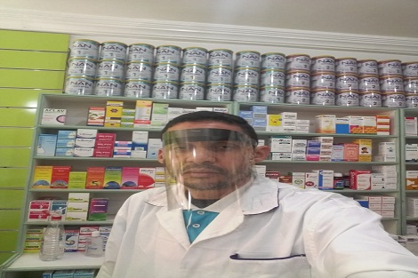 جمعية أمل للمساعدين التقنيين بسطات والنواحي توزيع أقنعة واقية على منخرطيها
