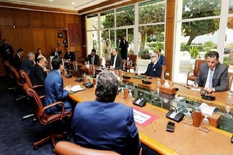 لجنة اليقظة الاقتصادية تنكب على بلورة خطة إنعاش شمولية للاقتصاد الوطني