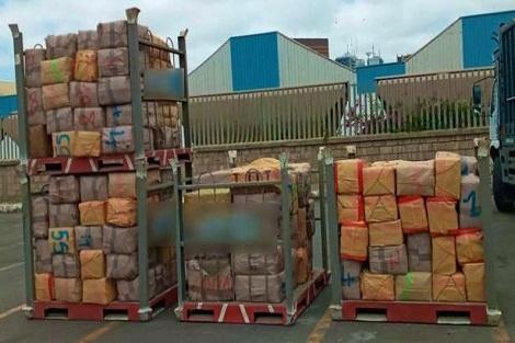 الدار البيضاء .. حجز سبعة أطنان و228 كلغ من مخدر الشيرا كانت موجهة للتهريب الدولي عبر المسالك البحرية