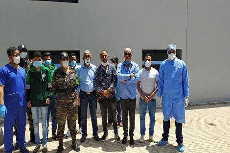 """المستشفى الإقليمي الحسن الثاني بسطات خالي من المصابين بفيروس""""كورونا"""" بعد مغادرة  أخر ست حالات شفاء وافدة"""
