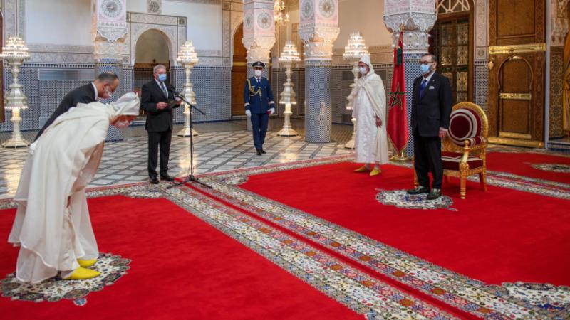 الملك محمد السادس يستقبل محمد عبد النباوي ويعينه رئيسا أول لمحكمة النقض والحسن الداكي ويعينه وكيلا عاما للملك لدى محكمة النقض